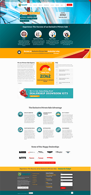 Exclusive Private Sale Web Built by B2B